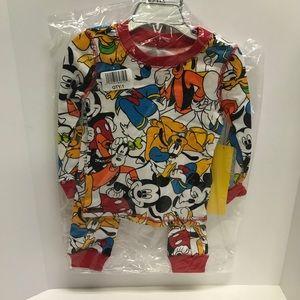 Disney Pajama Set NWT
